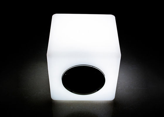 IR Remote Control LED Bluetooth Speaker / LED Cube Speaker 16 Warna Berubah